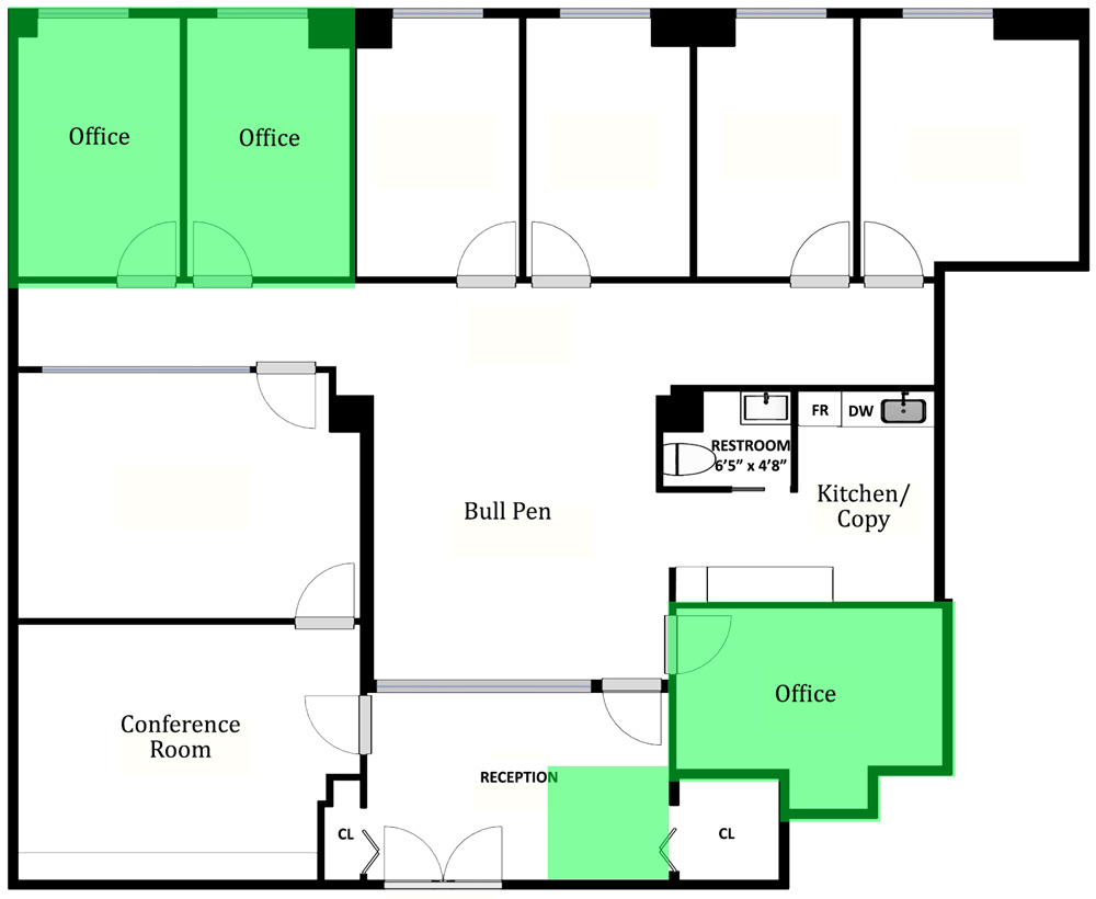 law firm sublease maiden lane | office sublets