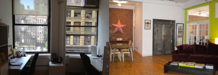 Office Sublet in Chelsea NYC
