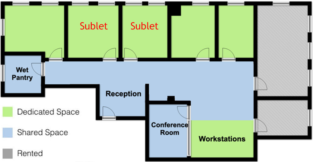 law firm space | office sublets