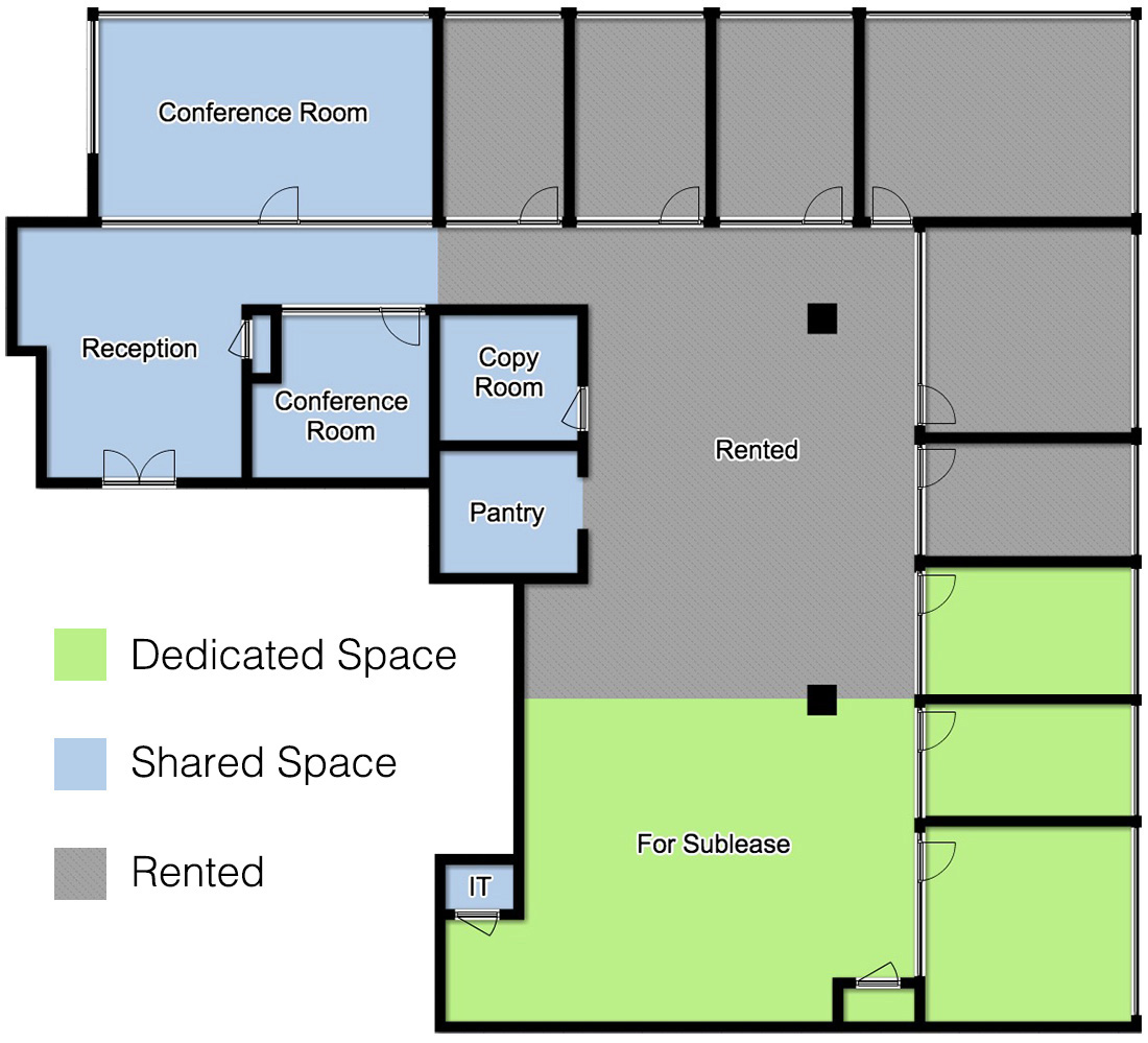 office space for investment firm