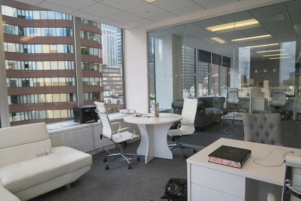hedge fund office sublease