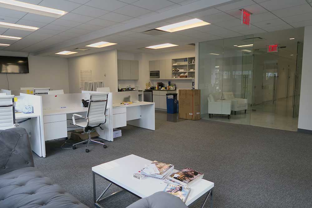 high end office sublease