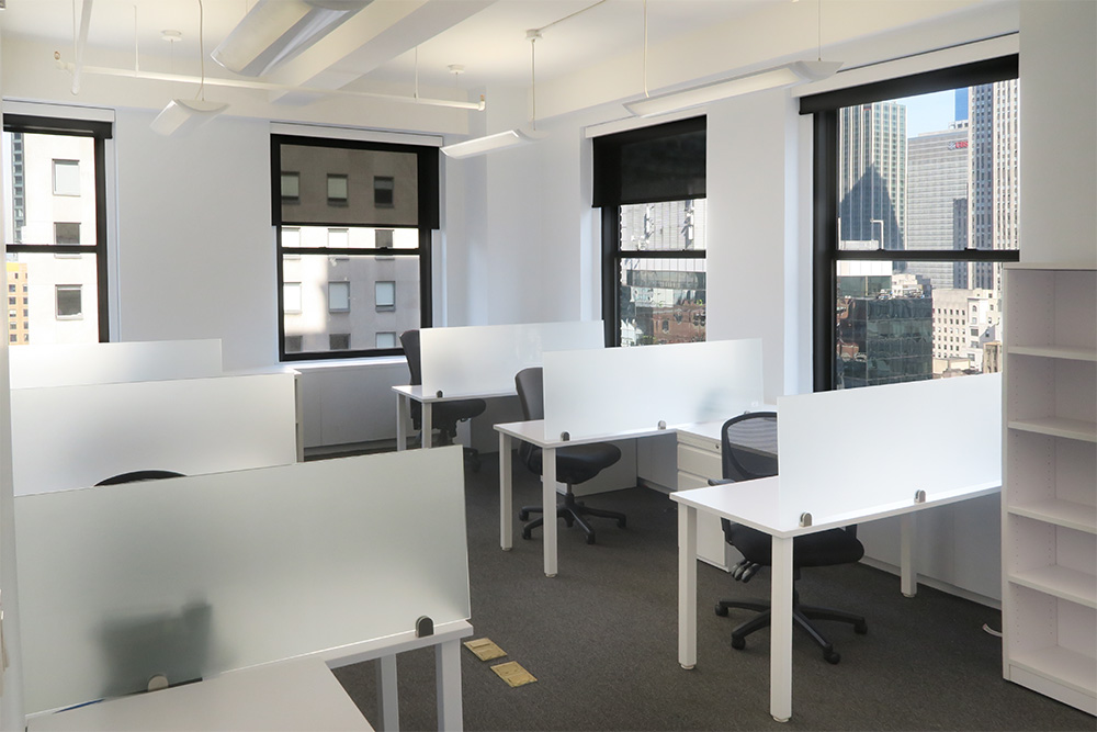 midtown office space | office sublets