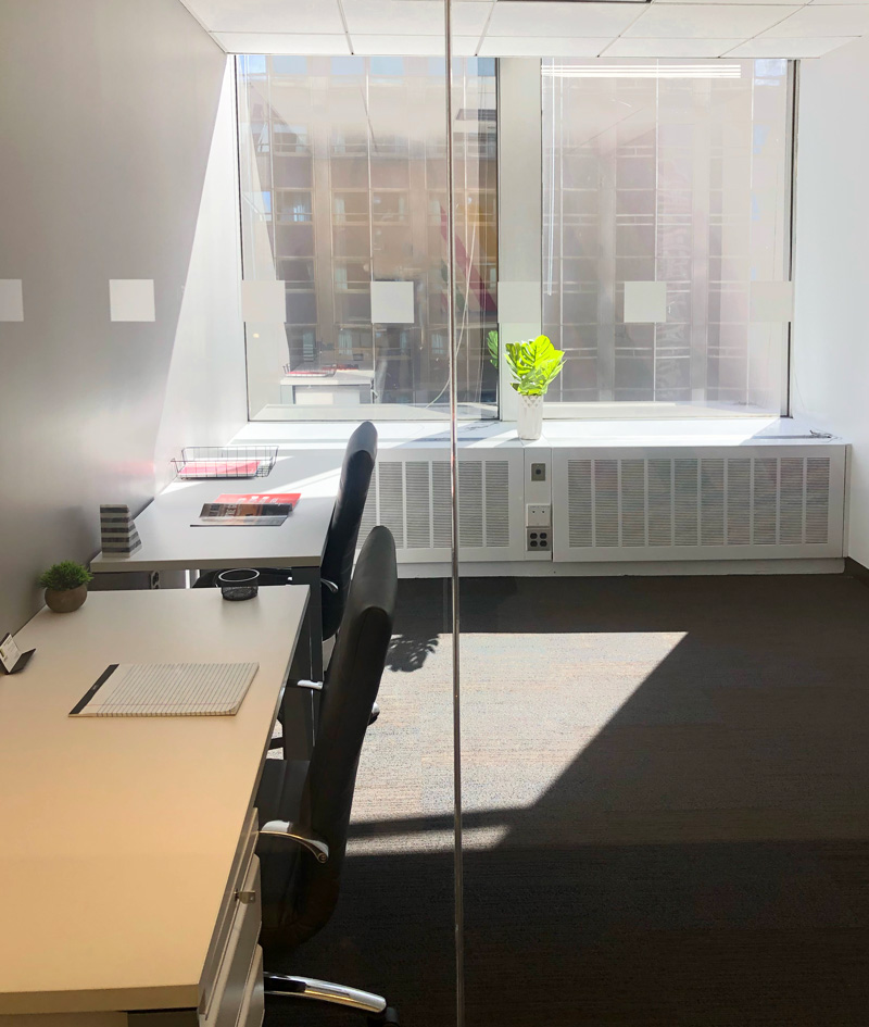 midtown private office | office sublets