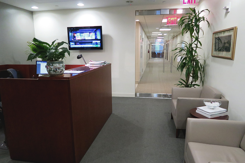 private office for sublease