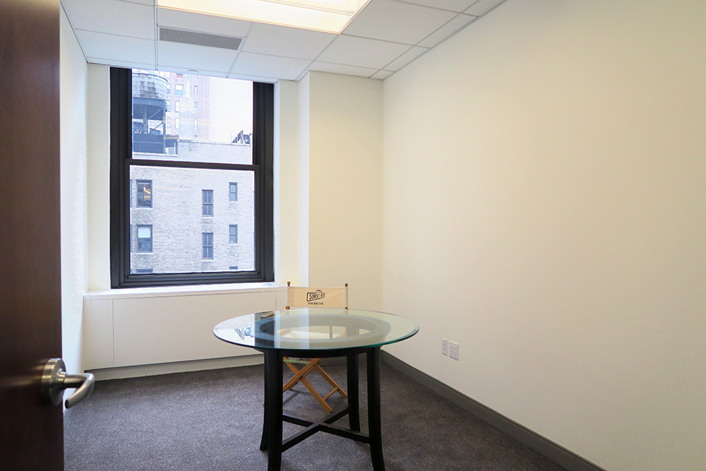 private office for sublease garment district