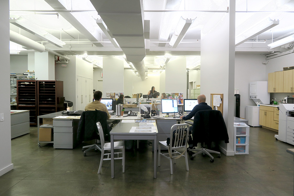 office space for sublease garment district
