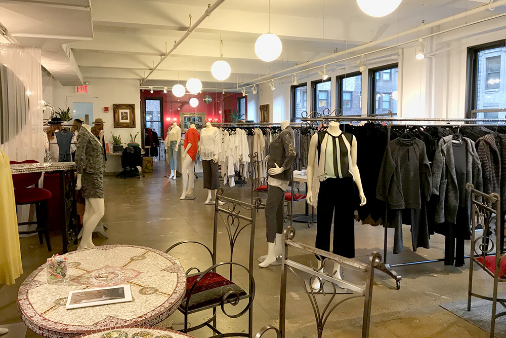 garment district showroom space