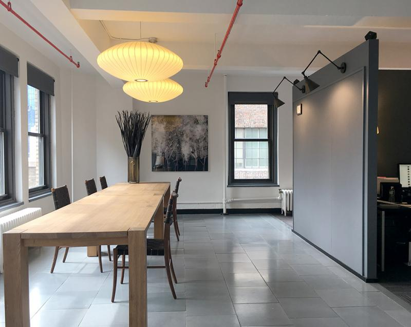 creative office space for lease with terrace