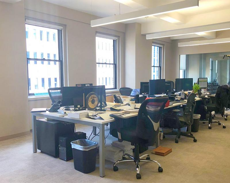 office sublet fidi investment firm