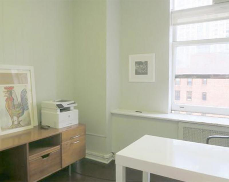 Private office for sublease professional Flatiron District