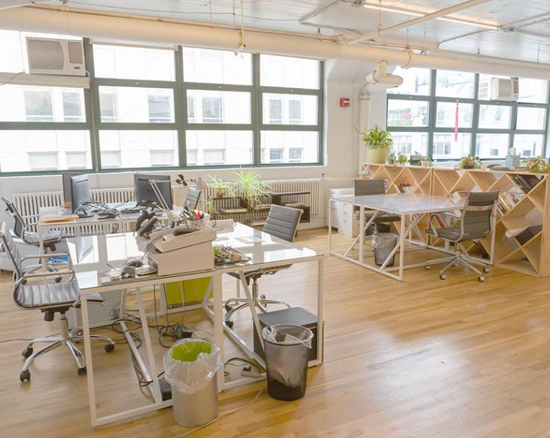 Desk space for sublease