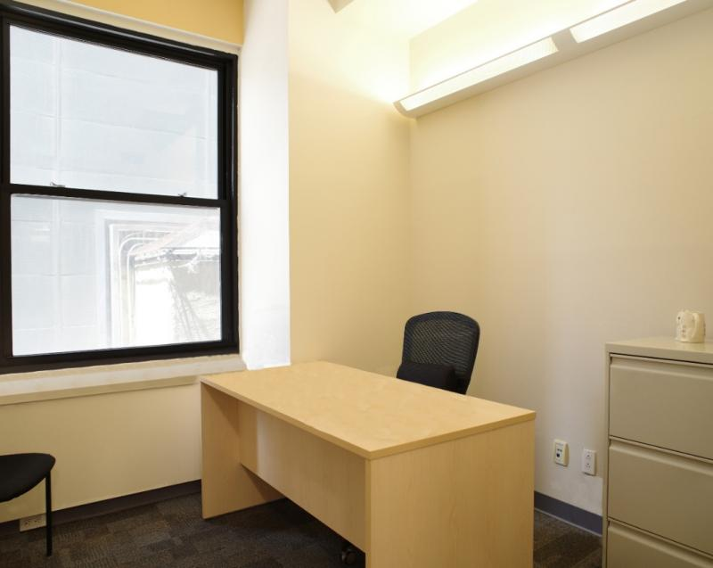 rent office space financial district