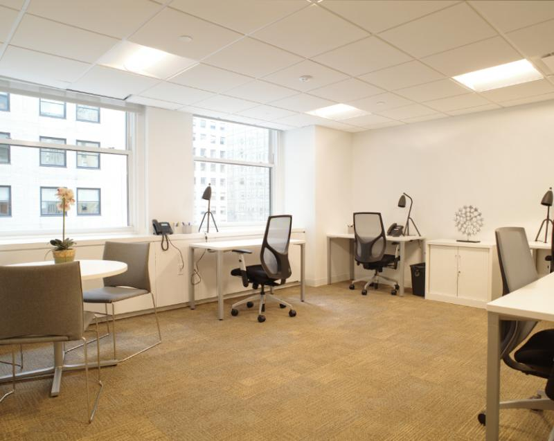 furnished office space Chrysler Building   office sublets