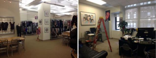 Showroom for Lease Seventh Avenue NYC