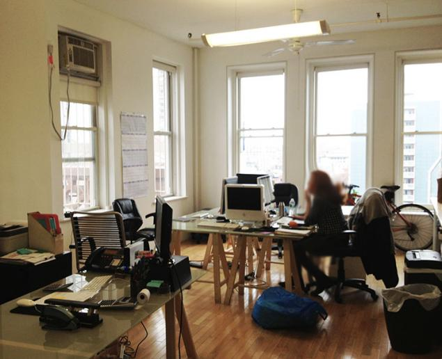 Small noho office space with big view office sublets - Small space offices pict ...