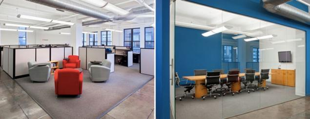 Creative office space for lease near herald square for Creative office space