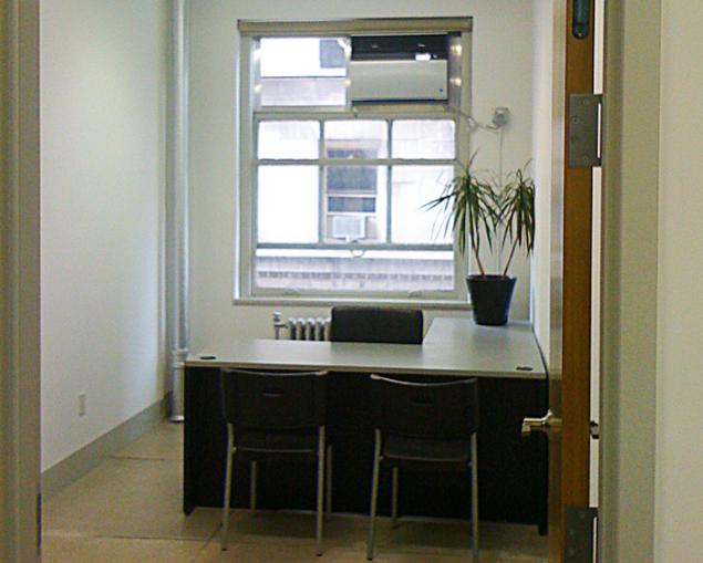 Soho private office for sublease from law firm attorney