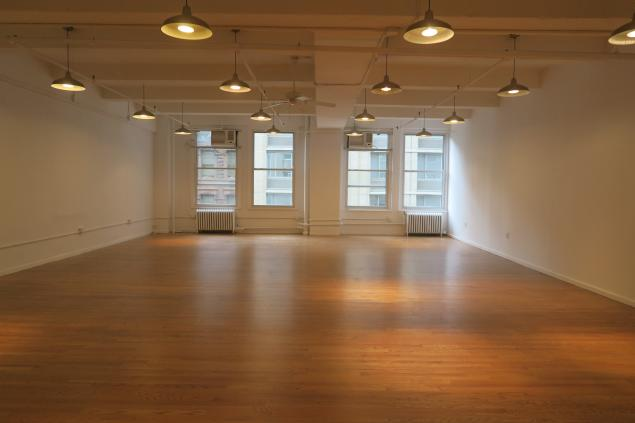 Open creative office space for lease