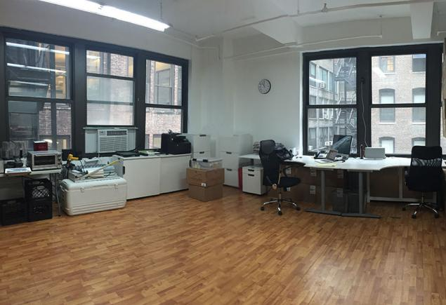 loft office space sublease chelsea