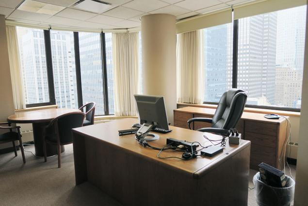 14 private offices available for sublease in law firm