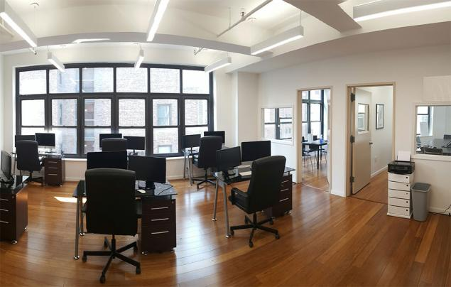 Open Creative Space With Two Private Offices 10018