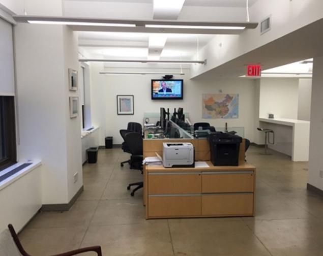 Office Sublet Hedge Fund Trading Installation