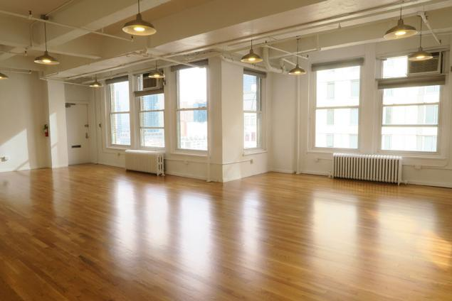 open creative loft space for lease