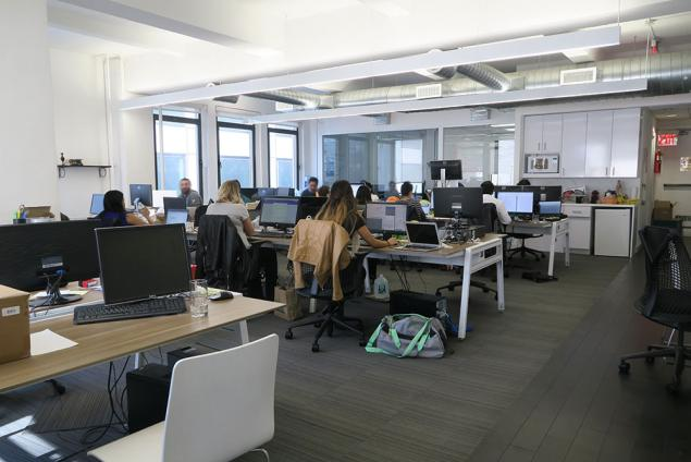Full floor midtown east office space for sublease 10022 for Ideal office layout