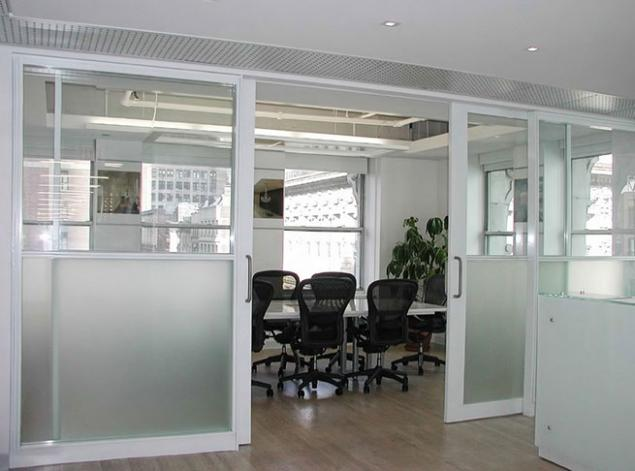 Open Space With Shared Access To Conference Room