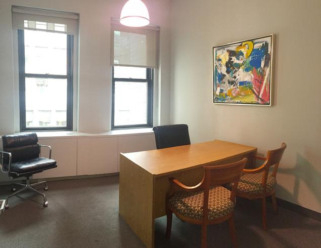 private office for sublease in midtown east