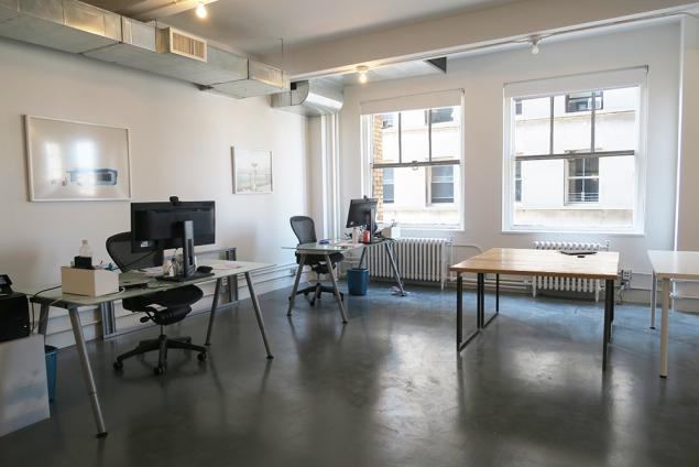 soho shared office space for sublease