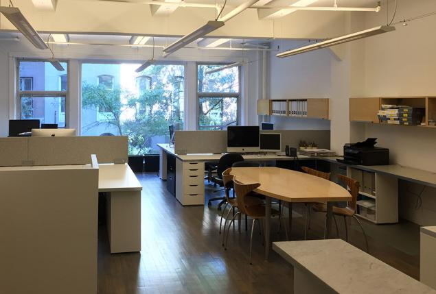 Shared Office Space in Union Square Architect Firm