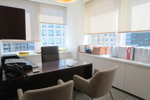 park avenue office sublet plaza district