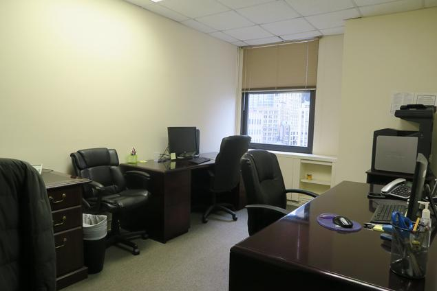 Office for sublease financial district nyc