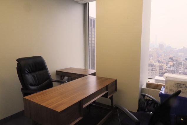 law firm office sublet one penn plaza