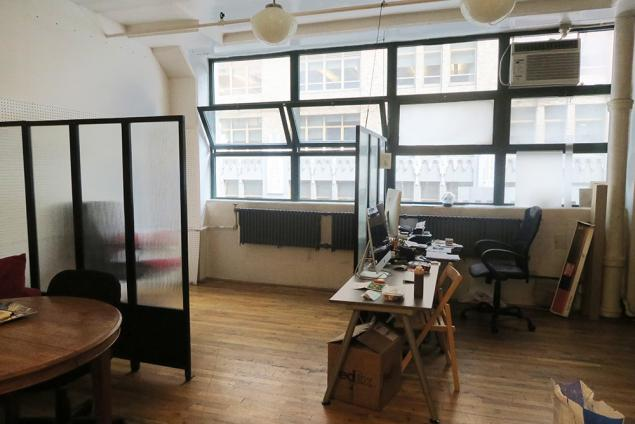 Hudson Square Office Sublet from Production Company