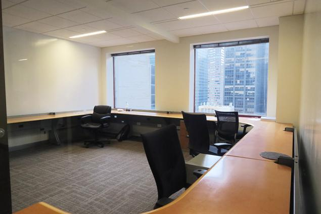 Trading Desks for Sublease Midtown East