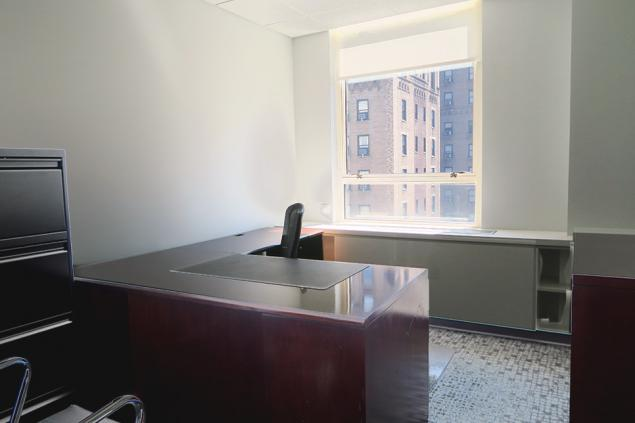 law firm office space for sublease