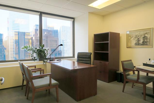 private office sublease midtown east