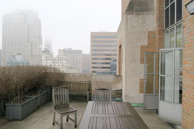 full floor office space with terrace for lease midtown
