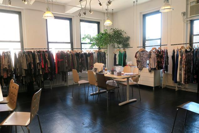 fashion showroom sublease garment district