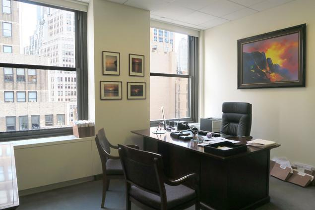 law firm suite private office rent