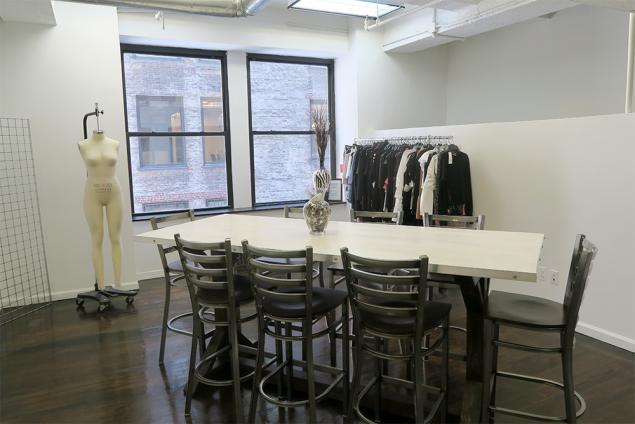 fashion showroom for sublease nyc