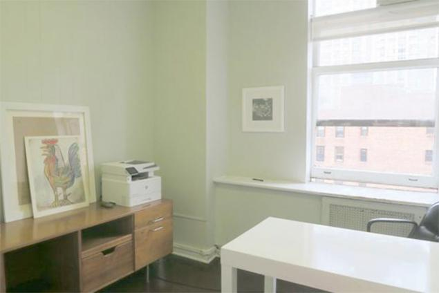 flatiron private office for sublease