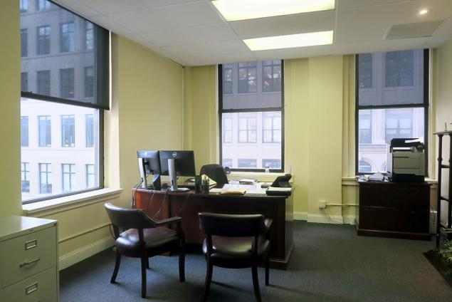 law firm suite for sublease in midtown south