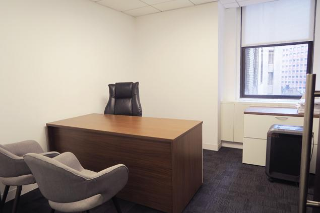 law firm sublease in financial district