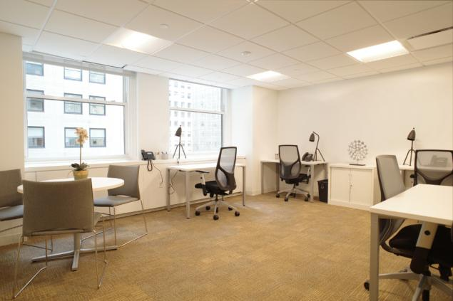 furnished office space Chrysler Building | office sublets