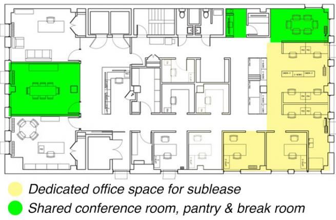 Office Space for Sublease Madison Square Park