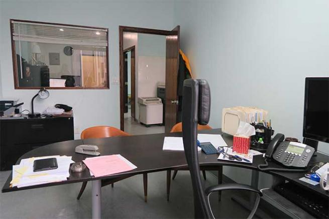 law firm with office for sublease